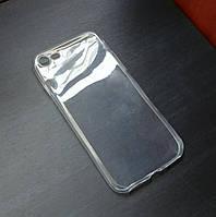 Прозрачный ультратонкий силиконовый чехол для iPhone 6 Plus/6s Plus (Уценка)