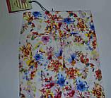 Летние котоновые брючки для девочки р 98, ТМ Glo-story GSK 8939, фото 3