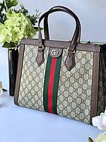 Женская сумка Gucci 'Ophidia GG' большая (реплика), фото 1