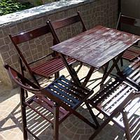 """Мебель деревяная складная """"шоколад ', фото 1"""