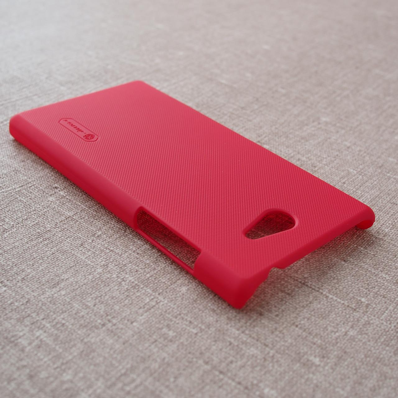 Накладка Nillkin Super Frosted Shield Sony Xperia M2 Для телефона