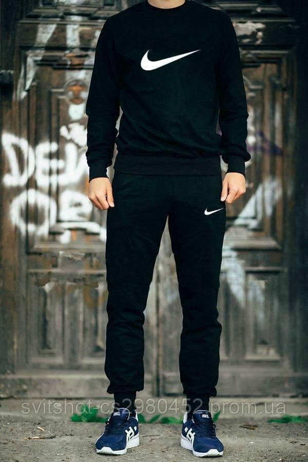 Спортивный костюм Nike (Найк), большой логотип-галочка