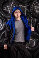 Windrunner Nike (Ветровка, виндраннер Найк), сине-черный