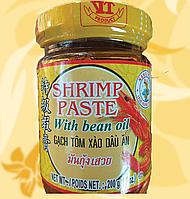 Креветочна паста в соєвому маслі, Shrimp Paste with bean oil, 200г,Ч