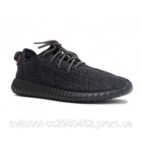Кроссовки Adidas Yeezy (Адидас Изи), черные