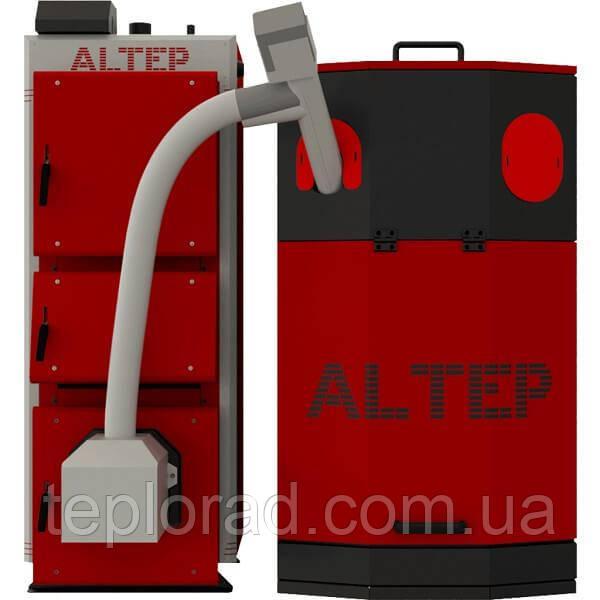 Твердотопливный котел Altep Duo UNI Pellet Plus - 27 кВт (горелка и вентилятор)