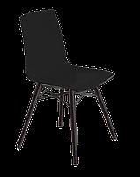 Стул Papatya X-Treme S Wox матовый черный, ножки бук венге лак, фото 1