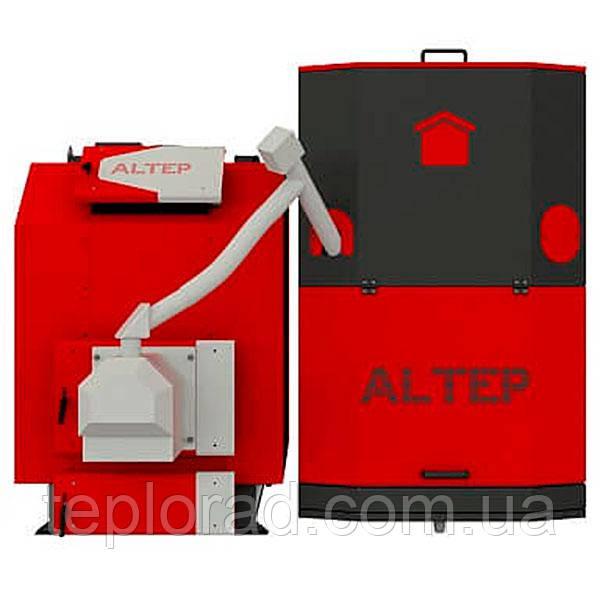 Твердотопливный котел Altep TRIO UNI Pellet Plus - 50 кВт (горелка и вентилятор)