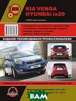 Kia Venga / Hyundai ix20 с 2009 года выпуска. Руководство по ремонту и эксплуатации, регулярные и периодические проверки, помощь в дороге и гараже,
