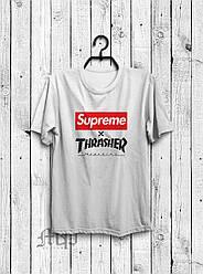 Футболка Supreme x Thrasher (Суприм х Трешер)