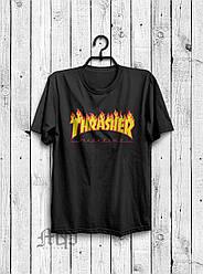 Футболка Thrasher (Трешер), огненный