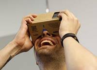 Google очки виртуальной реальности из картона Cardboard. 4 дюйма.
