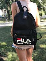 Рюкзак Fila  - Black | черный | фила | модный рюкзак