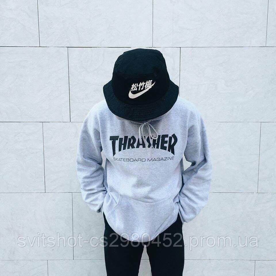 Худи Thrasher, серый