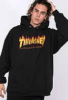 Худи Thrasher, пламенный