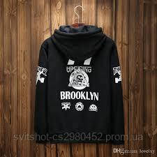 Худи Thrasher, черный Brooklyn