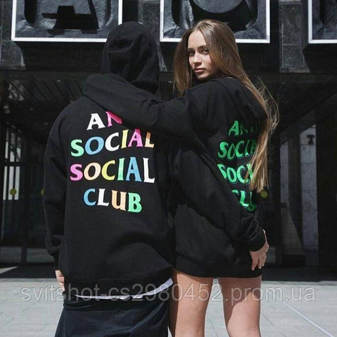 Худи Anti Social Social Club, черный