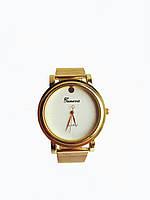 Часы женские Geneva F-4183 Золотистые