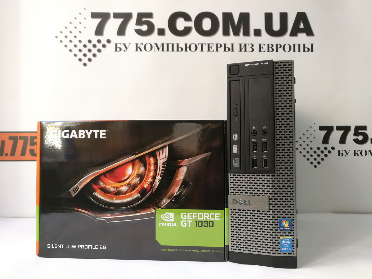 Компьютер Dell 7020, Intel Core i5-4560 3.4GHz, RAM 8ГБ, SSD 120ГБ, GeForce GT 1030 2ГБ