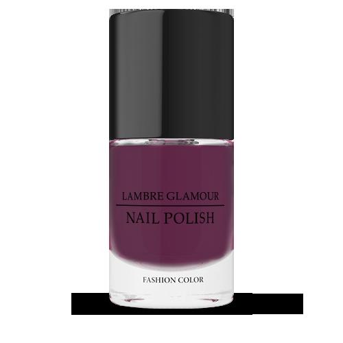 Лак для ногтей LAMBRE GLAMOUR NAIL POLISH №09 Бордовый 10 ml