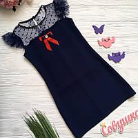 Школьное платье сарафан для девочки 134,140р