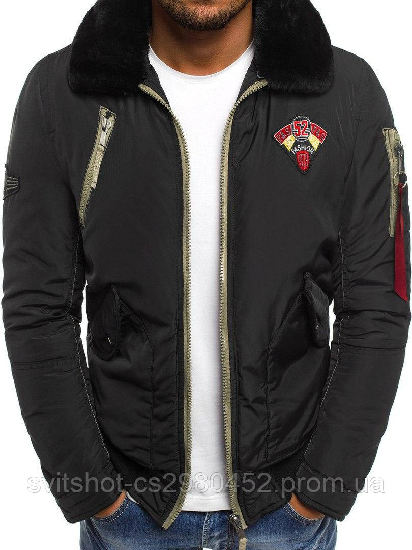 Куртка еврозима, черная