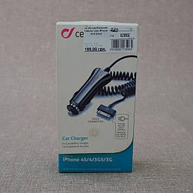 З/у автомобильное Cellular Line iPhone 4s/4 30-pin black (CBRIPHONE1) EAN/UPC: 8018080135965