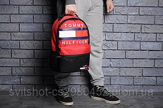 Рюкзак tommy filfiger, красный
