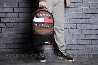 Рюкзак tommy filfiger, коричневый
