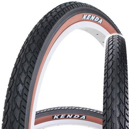 "Покрышка Kenda K-924 24"" Х 1,75 (O-O-0381) черно-коричневая, фото 2"