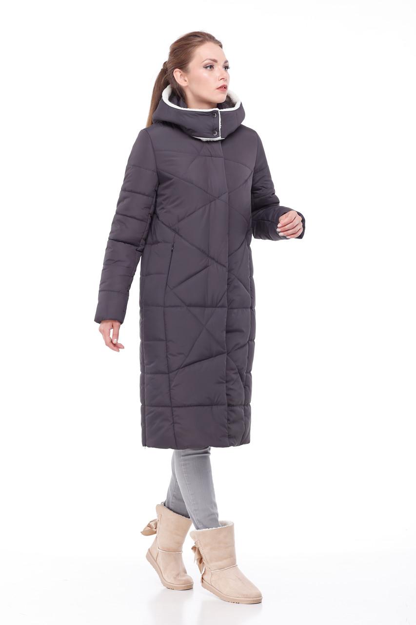 91ae6ba63d9 Модный зима 2019 зимний Пуховик пальто длинное больших размеров ЕНОТ 42-56  - Интернет -