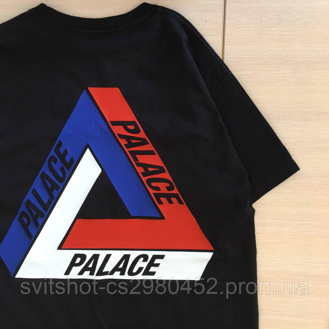Футболка Palace (Палас), черная