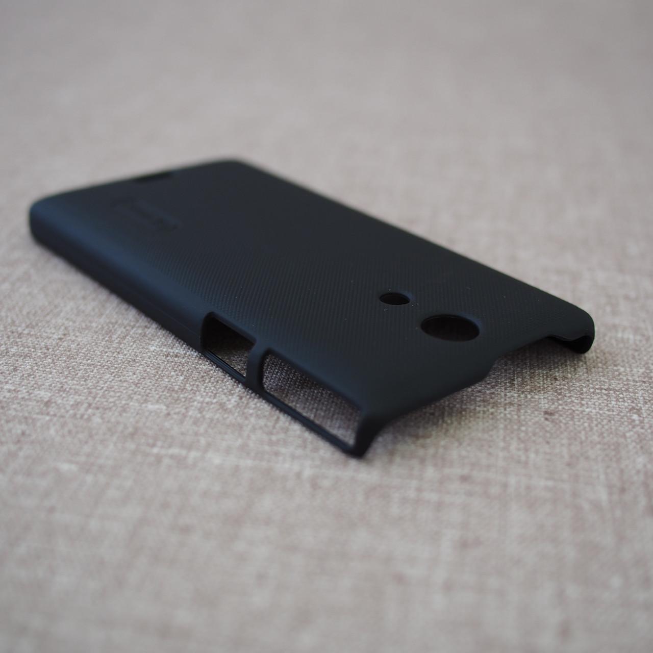 Накладка Nillkin Super Frosted Shield Sony Xperia ZR Для телефона