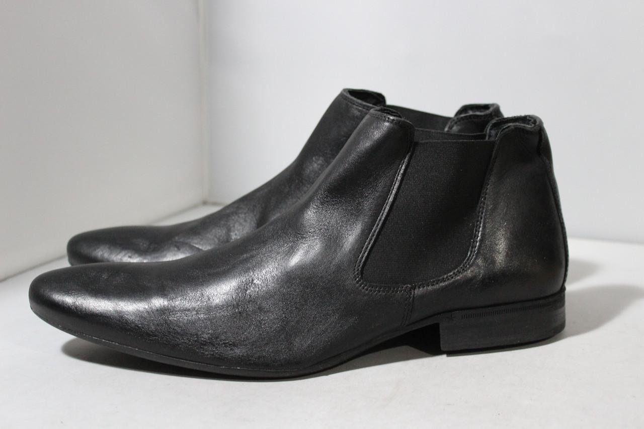 Мужские кожаные ботинки-челси Minelli