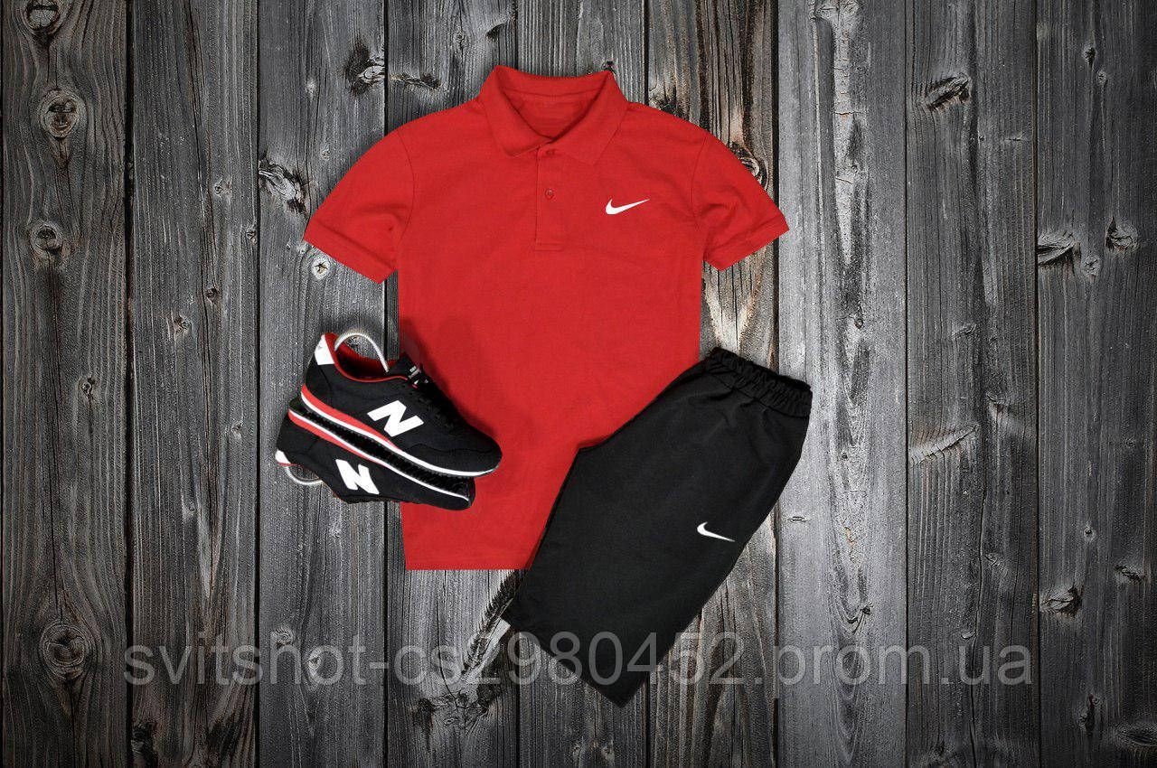 Комплект Поло + шорты Nike