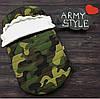 """Зимовий Конверт-кокон для виписки з пологового будинку """"Army style"""" (підходить в коляску до 6 міс) верх плащівка"""