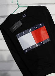 Свитшот Tommy Jeans, черный М
