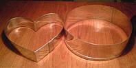 Обечайки для тортов, ножи и делители для кондитерки, скребки и т. д.