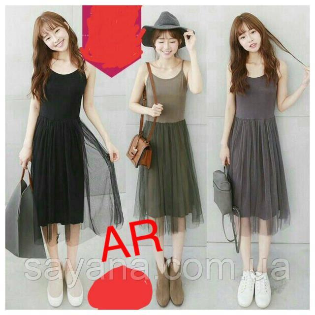 модное платьем