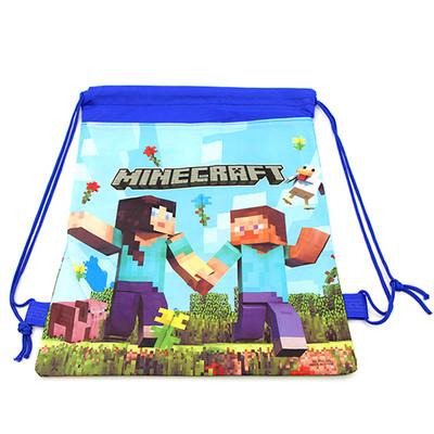 Рюкзак легкий Mineсraft для змінного взуття та одягу