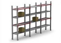 Стеллажи архивные (для хранения документации, легких грузов в гаражах, подсобных помещениях)