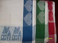 Полотенце Кухонное Вафельная (уп 12 шт) Рисунок Вилка-ложка