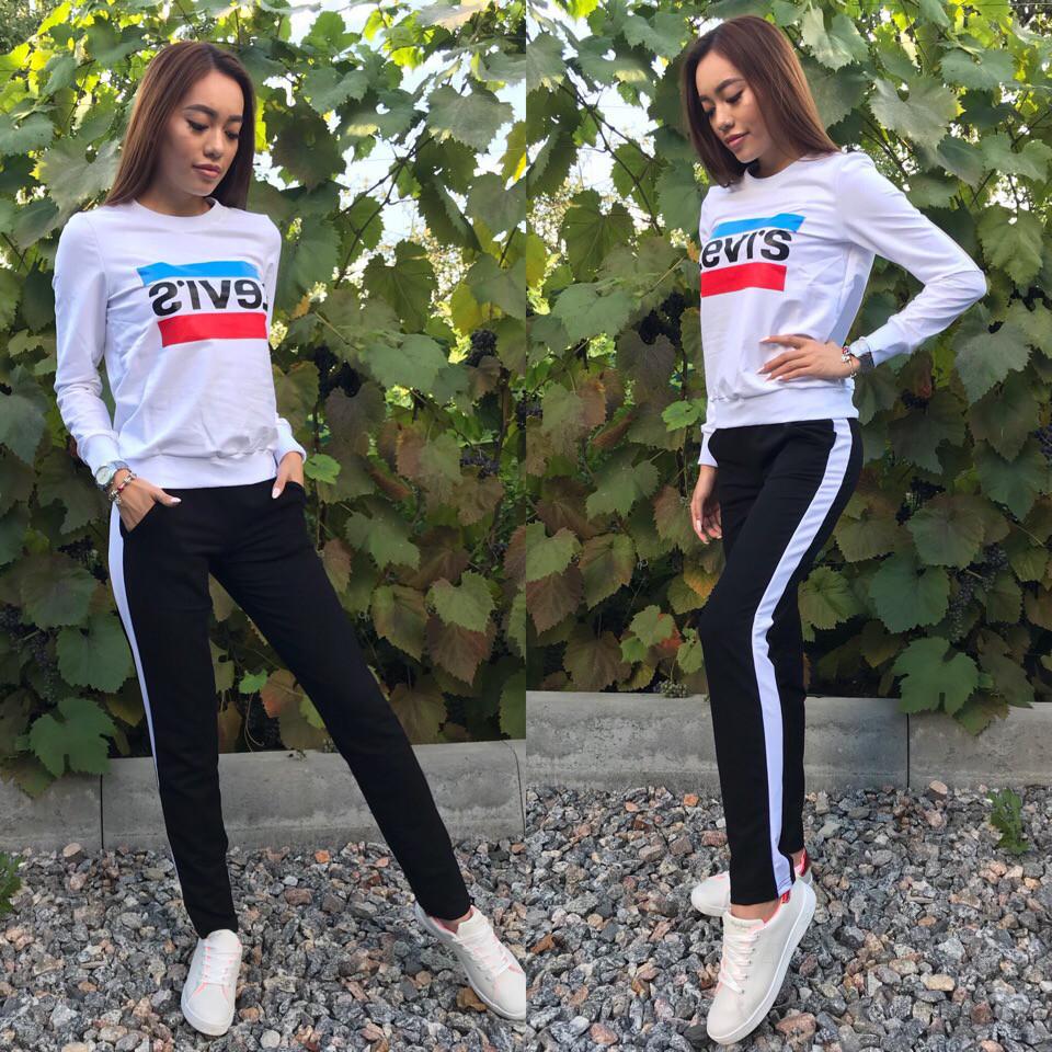 75f419fe ... Красивыйти женский спортивный костюм LEVI'Sиз Турецкой двухнитке, ...