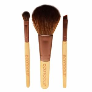 Набор из 3 кистей Eco Tools Mini Essentials Brush Set