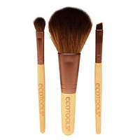 Набор из 3 кистей Eco Tools Mini Essentials Brush Set