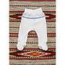 """Ползунки для новорожденного """"Украинский орнамент"""" Синий, красный. Размер 56 - 74 см, фото 2"""