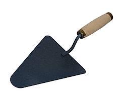 Кельма каменщика (мастерок) Polax (100-022) деревянная рукоятка