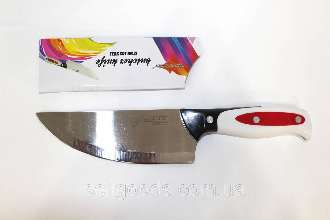 Нож нерж пластиковая ручка