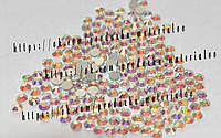 """Стразы стеклянные """"Crystal AB"""" (аналог swarovski) ss3 (1.3 mm)"""