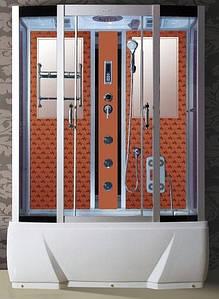 Гідробокс Badico DO958J 85х170х210 (Оранжевий барокко) + джакузі